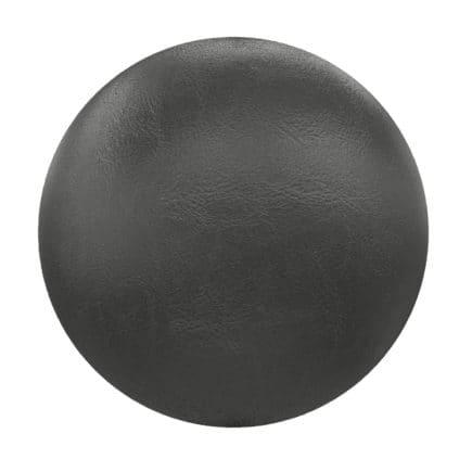 Black Leather PBR Texture
