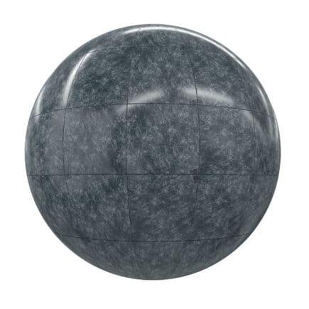 Black Tiles PBR Texture
