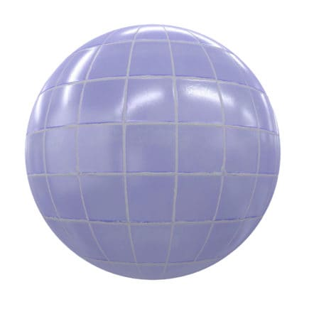 Blue Tiles PBR Texture