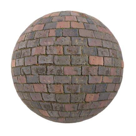 Brick Pavement PBR Texture
