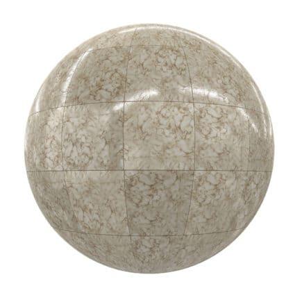 Brown Tiles PBR Texture
