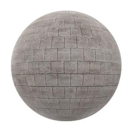 Concrete Pavement PBR Texture