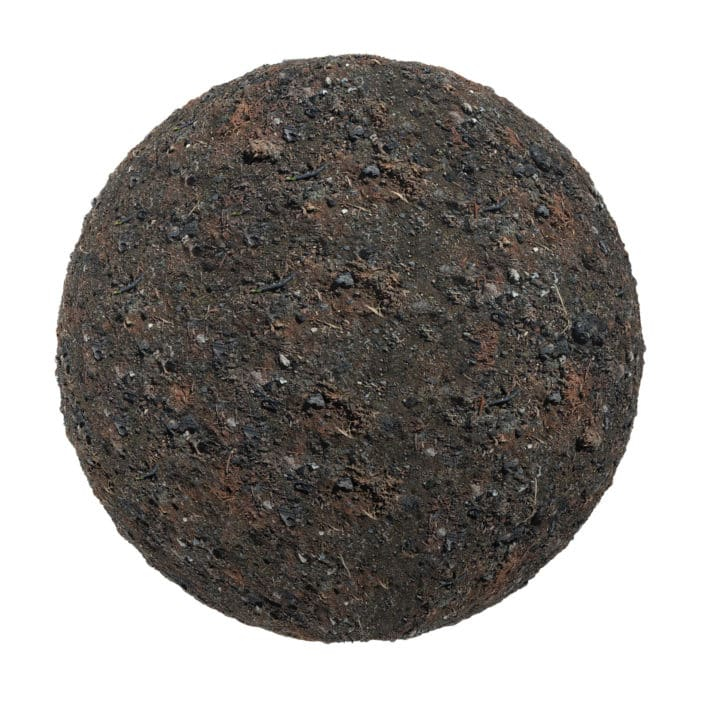 Dark Dirt PBR Texture