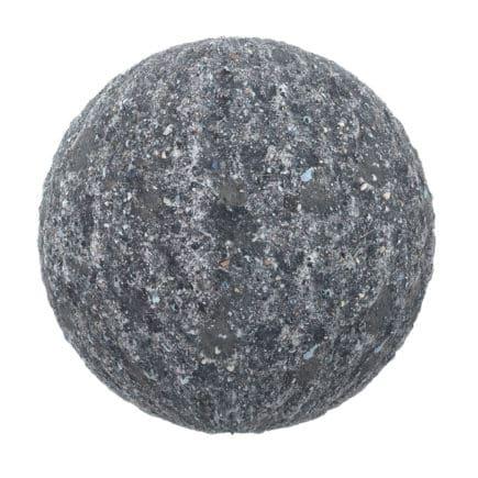 Dark Dirt with Stones PBR Texture