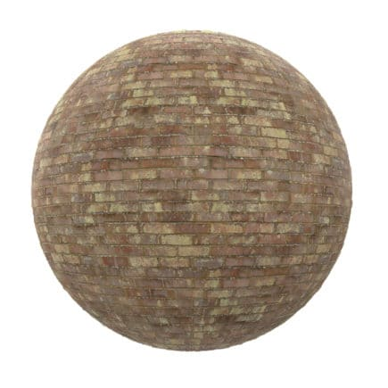 Dirty Brick Wall PBR Texture