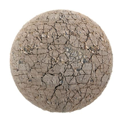Dry Cracked Dirt PBR Texture