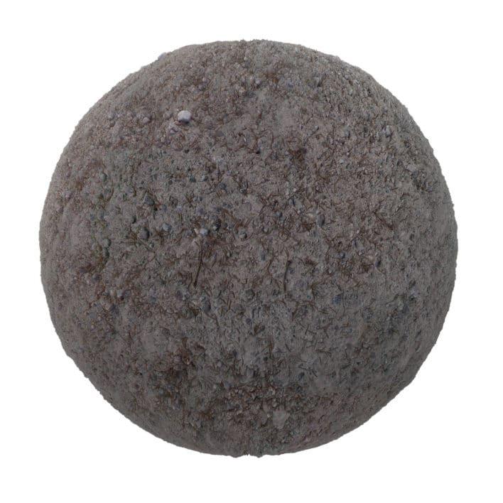Grey Dirt PBR Texture