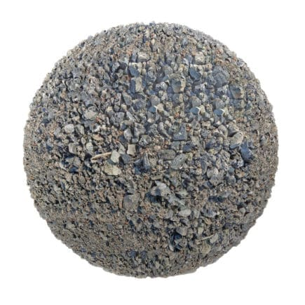 Grey Dirt with Stones PBR Texture