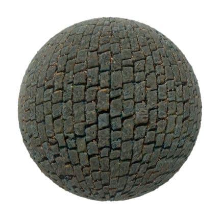 Grey Stone Pavement PBR Texture