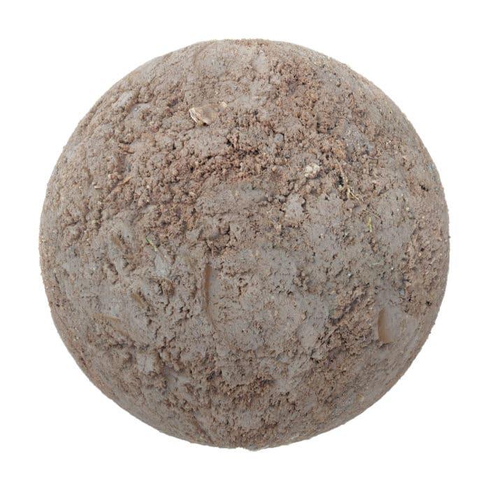Mud PBR Texture