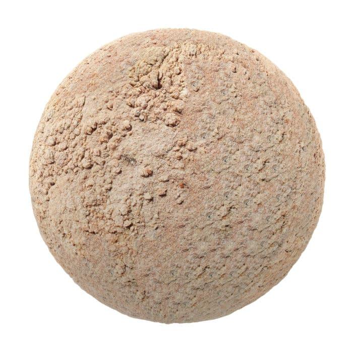 Orange Dirt PBR Texture