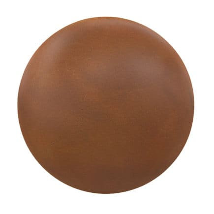 Orange Leather PBR Texture