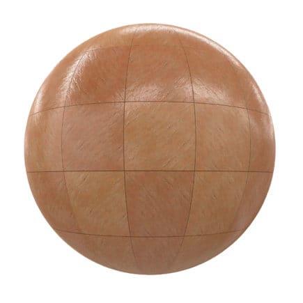 Orange Tiles PBR Texture