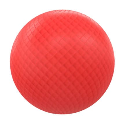 Quilted Red Leather PBR Texture