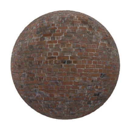Red Brick Wall PBR Texture