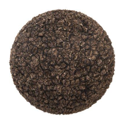 Rough Brown Dirt PBR Texture
