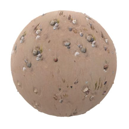 Sand with Stones PBR Texture
