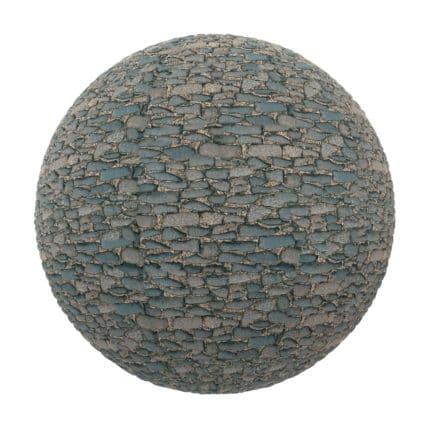 Stone Pavement PBR Texture