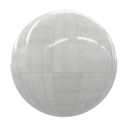 White Marble Tiles PBR Texture