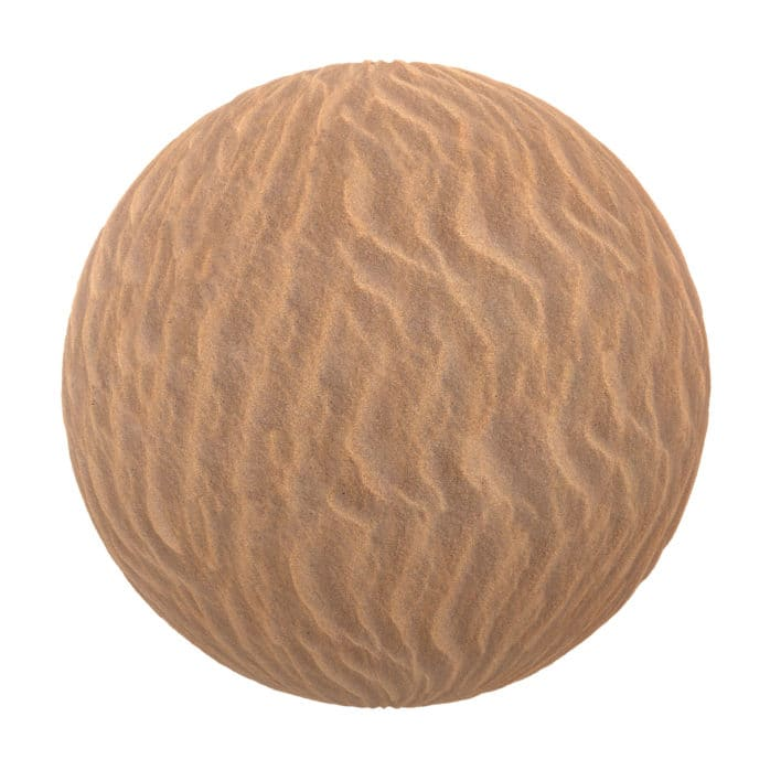 Yellow Sand PBR Texture