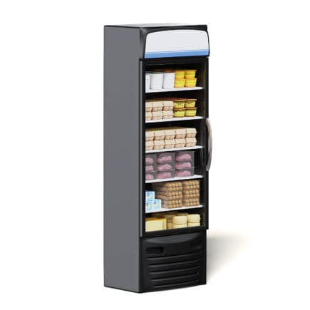 Market Fridge 3D Model