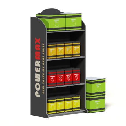 Market Stand 3D Model - Drinks