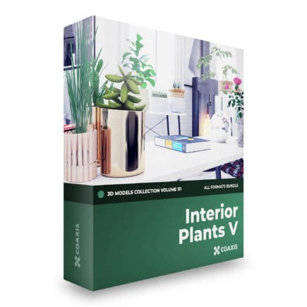 Interior Plants 3D Models