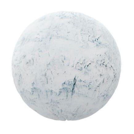 Rough Snow PBR Texture