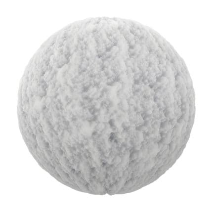 Snow Closeup PBR Texture