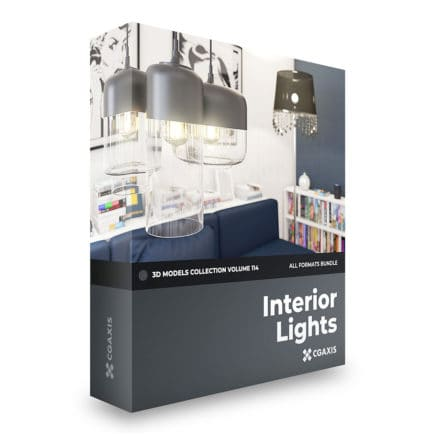 interior lights 3d models