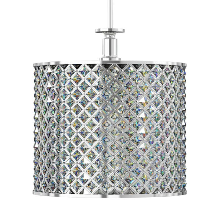 Crystal Ceiling Lamp 3D Model