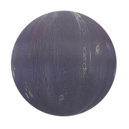 Purple Painted Wood PBR Texture