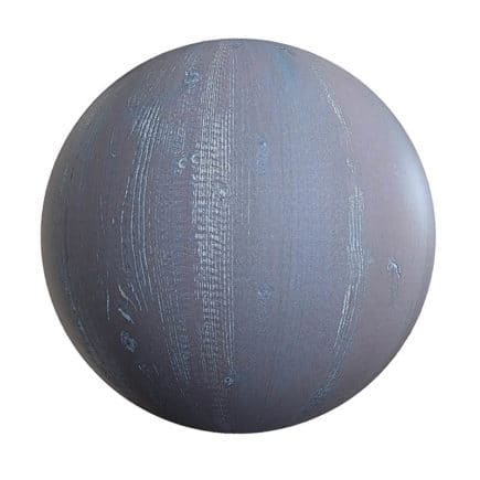 Rough Painted Wood PBR Texture