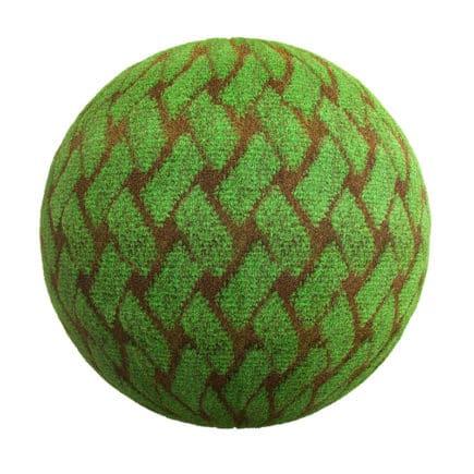 Doormat Fabric PBR Texture