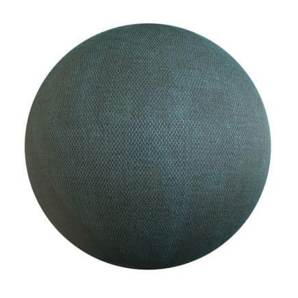 Green Fabric PBR Texture
