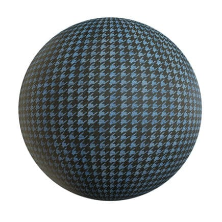 Patterned Fabric PBR Texture