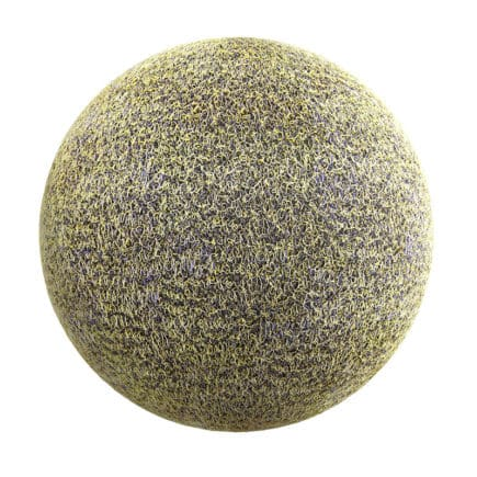 Yellow and Black Fabric PBR Texture