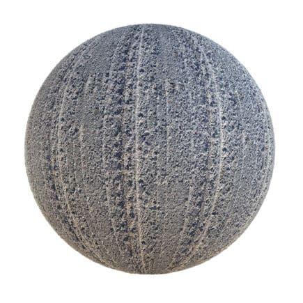 Grey Asphalt with Lines PBR Texture