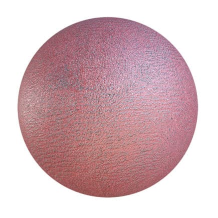 Red Painted Asphalt PBR Texture