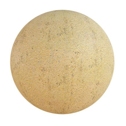 Yellow Painted Asphalt PBR Texture
