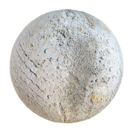 Rough Concrete with Rocks PBR Texture