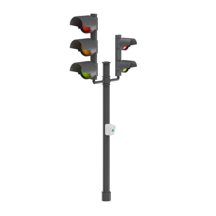 Traffic Lights 3D Model
