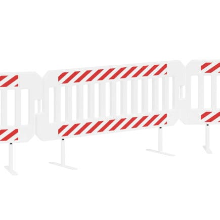 Crash Barrier 3D Model