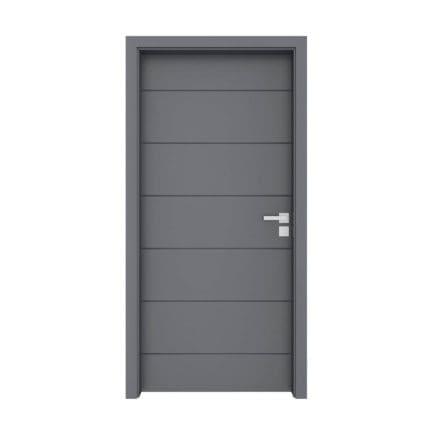 Grey Door 3D Model
