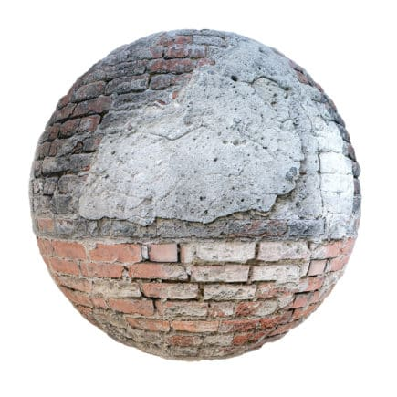 Old Brick Wall PBR Texture