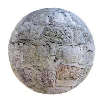 Stone Wall PBR Texture