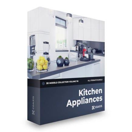 kitchen appliances 3d models