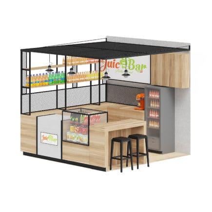 Juicery Kiosk 3D Model