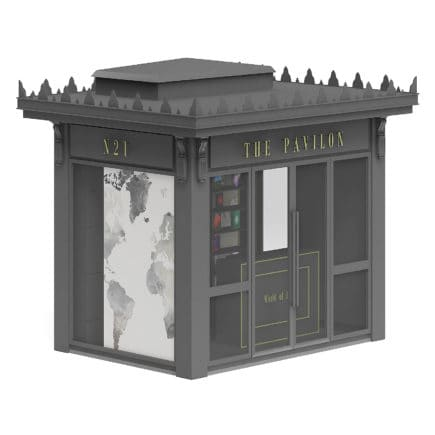 Book Kiosk 3D Model