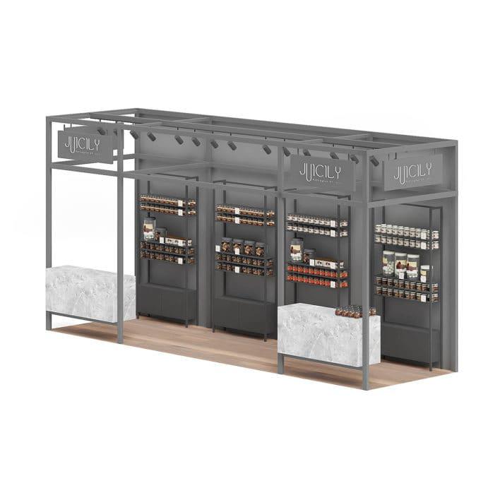 Steel Kiosk 3D Model